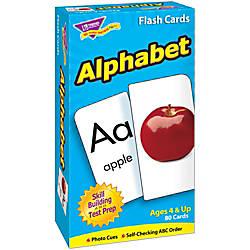 TREND Alphabet Skill Drill Flash Cards