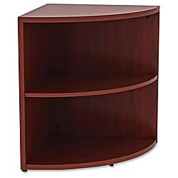 Lorell Essentials Series Mahogany Lam Desking