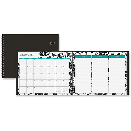Blue Sky Barcelona Planner Monthly Weekly Daily 1 Year