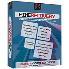 FineRecovery Data Recovery Software Download Version