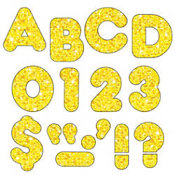 TREND Ready Letters Casual 2 Yellow