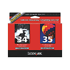 Lexmark 3435 18C0535 High Yield BlackColor