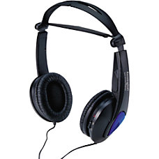Kensington Noise Canceling Headphones Stereo Black
