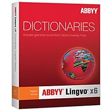 ABBYY Lingvo X6 English Russian Dictionary
