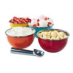 TJ Riley Co Ice Cream Bowl