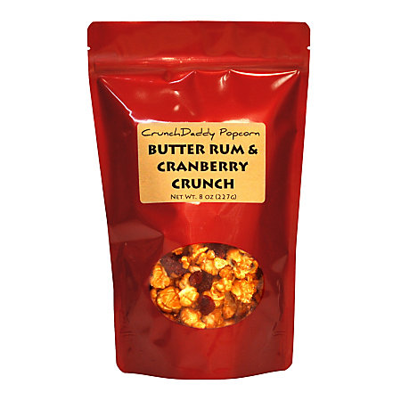 CrunchDaddy Butter Rum Cranberry Crunch Popcorn 8 Oz by Office Depot ...