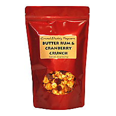 CrunchDaddy Butter Rum Cranberry Crunch Popcorn