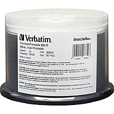 Verbatim 2x BD R Media Thermal