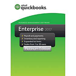 QuickBooks Desktop Enterprise Platinum 2017 2
