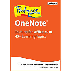 Professor Teaches OneNote 2016 Download Version