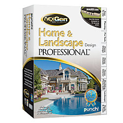 punch home landscape design professional with nexgen
