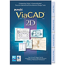 Punch ViaCAD 2D3D 8 For PCMac