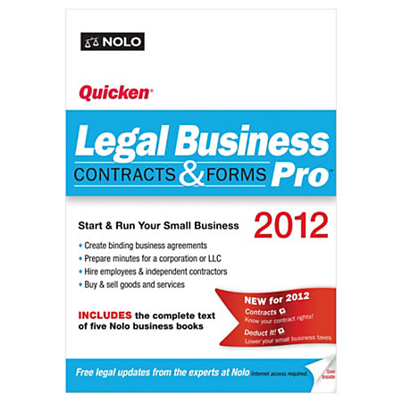 Legal Forms Books & Software