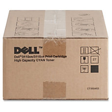 Dell PF029 High Yield Cyan Toner