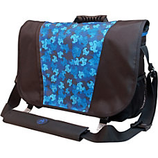 SUMO Messenger Bag Black Blue