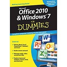 Office 2010 And Windows 7 For