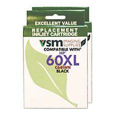 VSM Imaging Supplies VSMC641WN 2PACK HP