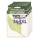 VSM Imaging Supplies VSM564XL MULTI4PACK HP