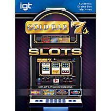 IGT Slots Gold Bar 7s Mac