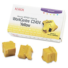 Xerox 108R00662 Yellow Solid Ink Sticks