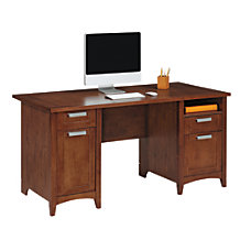 Realspace Marbury Collection Executive Desk Auburn