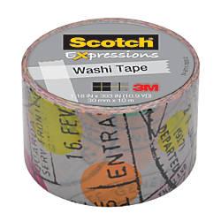 Scotch Expressions Washi Tape 118 Width