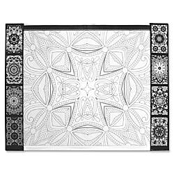Aurora Illustrator Jr DeskPad Geometric Rectangle
