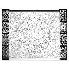 Aurora Illustrator Jr DeskPad Geometric Rectangle