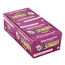 Honey Stinger Organic Energy Chews Pomegranate
