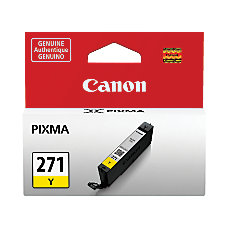 Canon CLI 271 Yellow Ink Tank