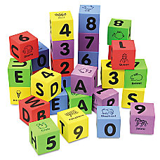Chenille Kraft WonderFoam Learning Blocks Assorted