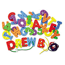 Creativity Street WonderFoam Lacing Letters And