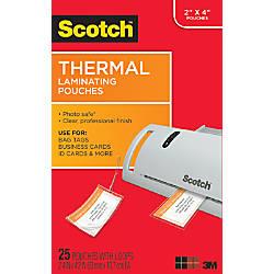 Scotch TP5853 25 Thermal Pouches 2