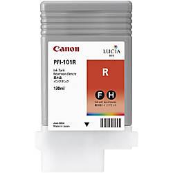 Canon PFI 101R Original Ink Cartridge