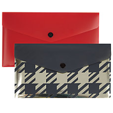 Divoga Fashion Envelope With Snap Closure