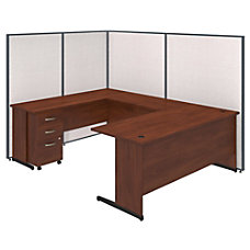 Bush Business Furniture C Leg U