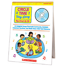 Scholastic Flip ChartCD Circle Time Sing