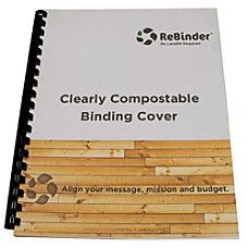 ReBinder ReBound Chipboard Backing Sheets 100percent