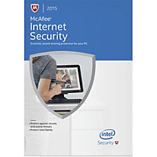 McAfee Internet Security 2015 1 User