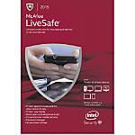 McAfee LiveSafe 2015 1 user Download