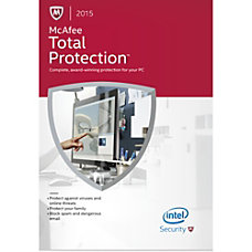 McAfee Total Protection 2015 1 User