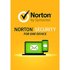 Norton Security 1 Device Download Version