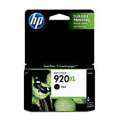 HP 920XL Black Ink Cartridge CD975AN