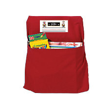 Seat Sack Organizers Small 12 Red