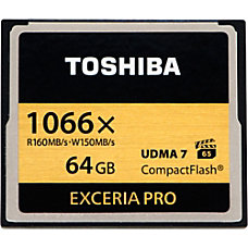 Toshiba Exceria Pro 64 GB CompactFlash