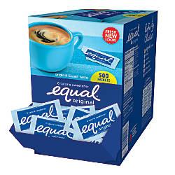 Equal Original Sweetener 0035 Oz Box