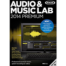 MAGIX Audio Music Lab 2014 Premium