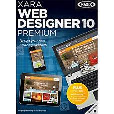 Xara Web Designer 10 Premium Download