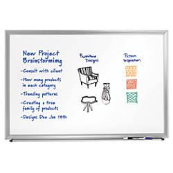 FORAY Aluminum Framed Dry Erase Board