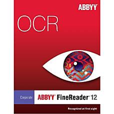 ABBYY FineReader 12 Corp Ed Upg